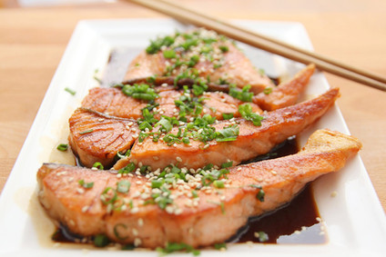 Salmon...