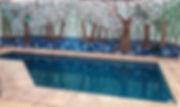 buchar, luli, lucía, lucia buchar, árboles, dibujo, pintura, óleo, pastel, acrílico, mural, árboles