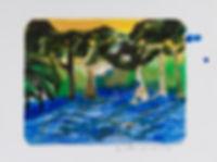 buchar, luli, lucía, lucia buchar, árboles, dibujo, pintura, óleo, pastel, acrílico, árboles