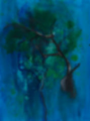 buchar, luli, lucía, lucia buchar, árboles, dibujo, pintura, óleo, pastel, acrílico