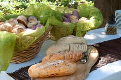 לחם ולחמניות באירוע
