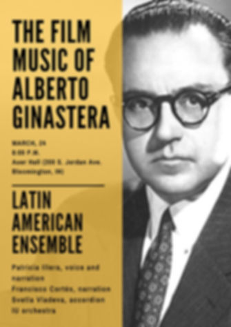 latin ameican ensemble jacob school of music