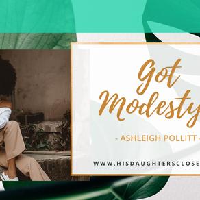 Got Modesty?