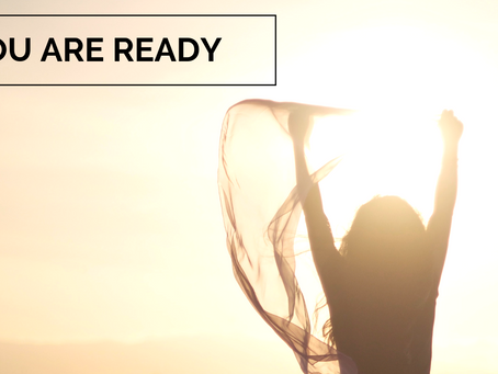 You Are Ready for Your New Beginning