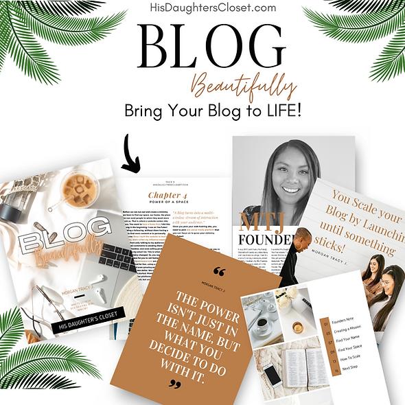 Blog Beautifully |  Workbook