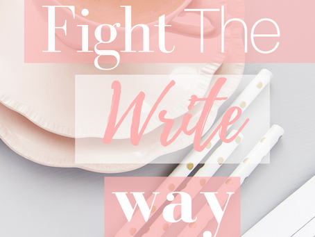 Fight the Write Way
