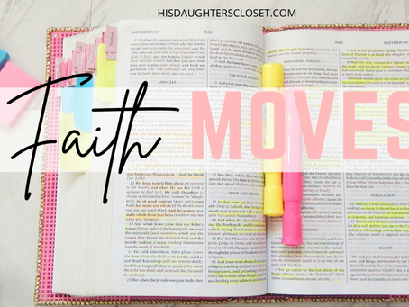 It's Time for A Faith Move!