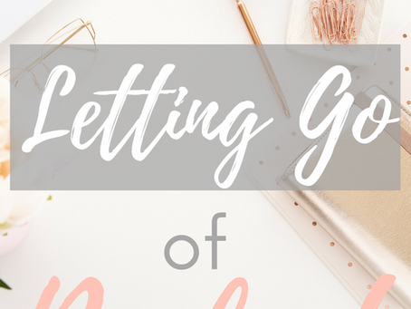 Letting Go Off Perfect (Prayer Journal Prompt)