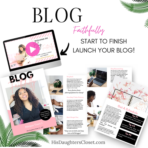 Blog Faithfully Course