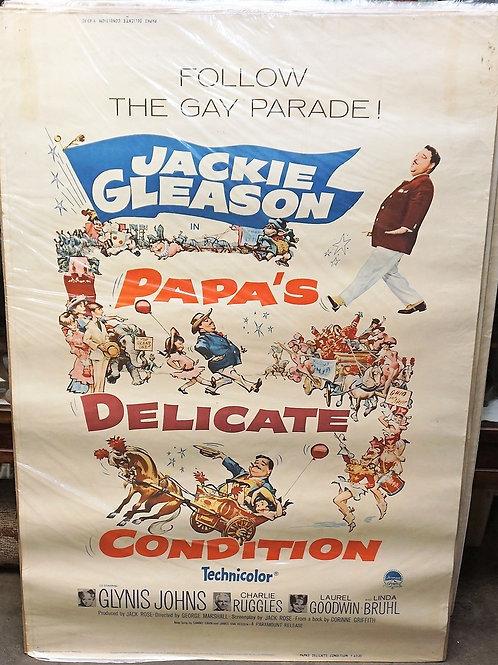 """Papas Delicate Condition"" 1963 Movie Poster"