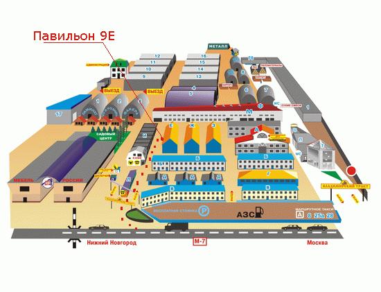 Схема проезда в Столярное дело