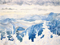 Adirondacks in the snow