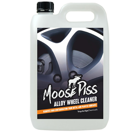 Moose Piss Alloy Wheel Cleaner, Iron Contamination Remover