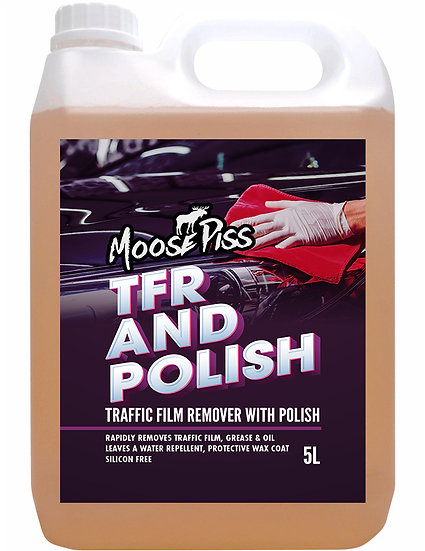 Moose Piss Trafic Film Remover With Polish 5L
