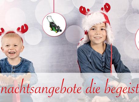 Weihnachtsangebote die begeistern...