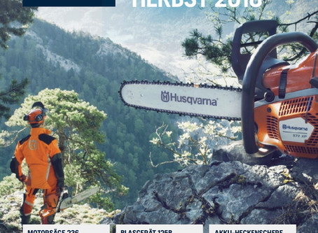 HUSQVARNA HIGHLIGHTS HERBST 2018
