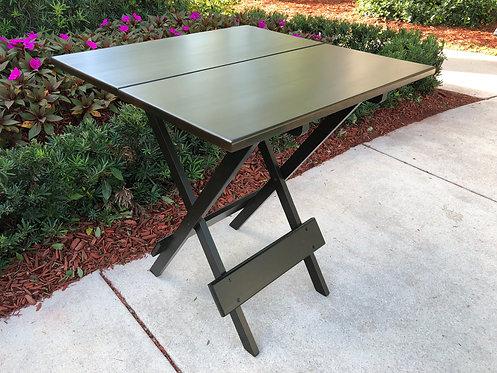 Folding Square Table - Espresso