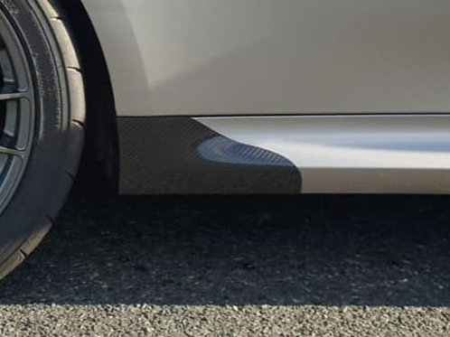 RENAULT CLIO 197/RS200 SIDE SKIRT SPATS