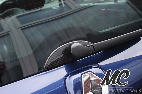 RENAULT CLIO 172/182/MK2 CARBON FIBRE REAR WIPER SURROUND
