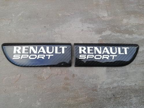 RENAULT MEGANE 225/R26 DOOR BULLET BADGES
