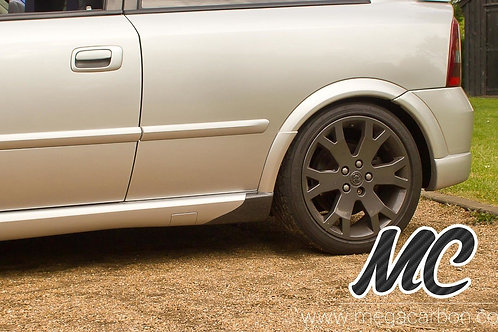 VAUXHALL ASTRA G MK4 / TURBO / GSI CARBON FIBRE SIDE SKIRT SPATS