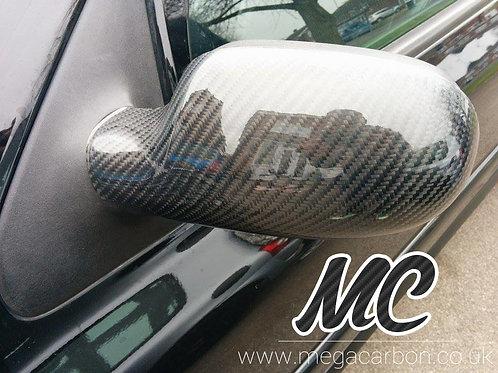 RENAULT CLIO 172 / 182 / 16V MK2 CARBON FIBRE WING MIRROR COVERS