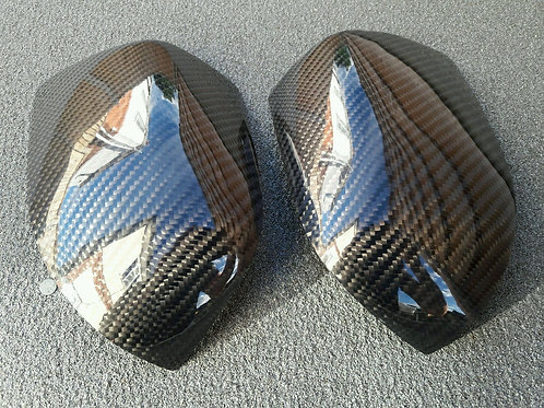 FORD FIESTA MK6 ST150/ST500 CARBON FIBRE WING MIRROR COVERS.