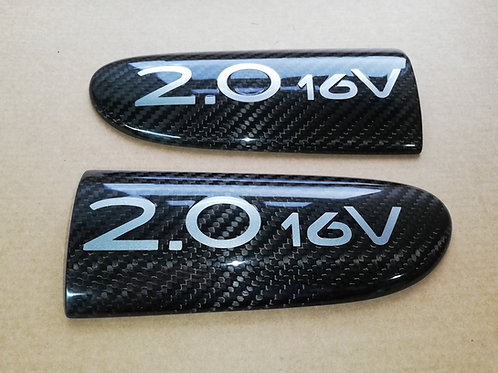 RENAULT CLIO 172/182/MK2 CARBON FIBRE DOOR BADGES