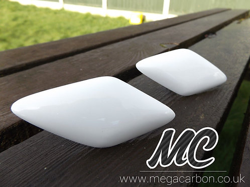 RENAULT MEGANE MK2 225 / R26 FIBREGLASS HEADLAMP WASHER JET BLANKS