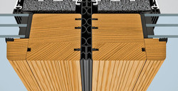 SL97 foldedør profilsnit