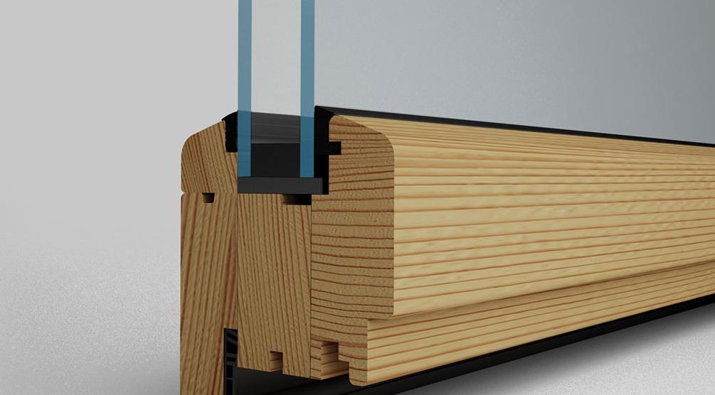SL66 foldedør profil