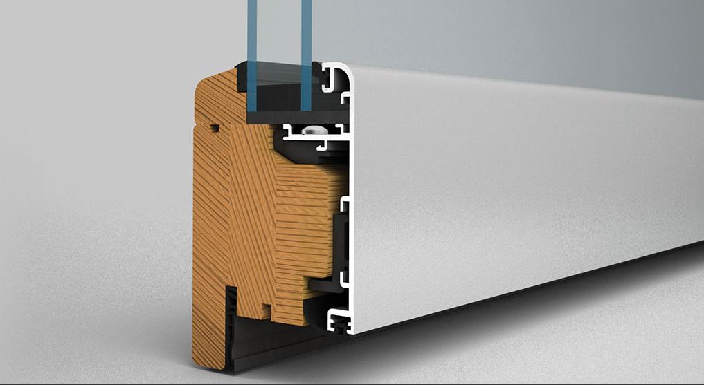 SL67 foldedør profil