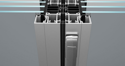 SL80 foldedør profil