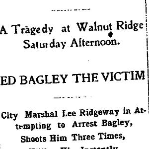 Bagley-Ridgeway Feud Files