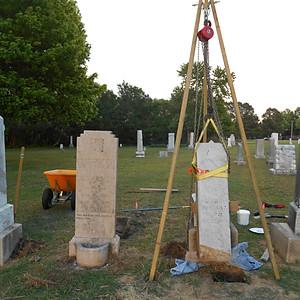 Gravestone Repair & Resetting