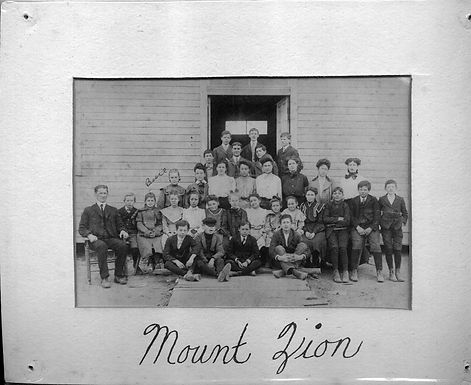 Mount Zion School Photograph