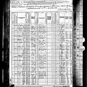 Mt. Zion Census Records