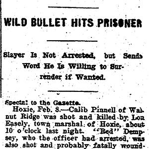 Pinnell, Burleson Murder Files