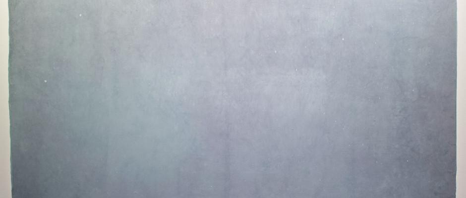 밤하늘 2, 2021, Watercolour on hanji, 142*75