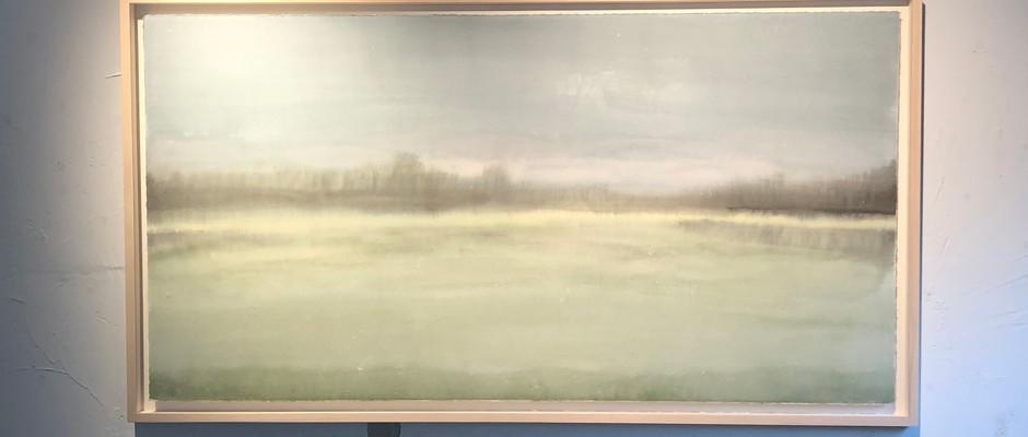 Untitled, 2019, Watercolour on hanji