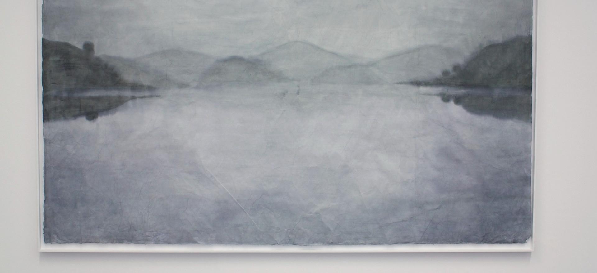 Untitled, 2018, Watercolour on hanji, 215*