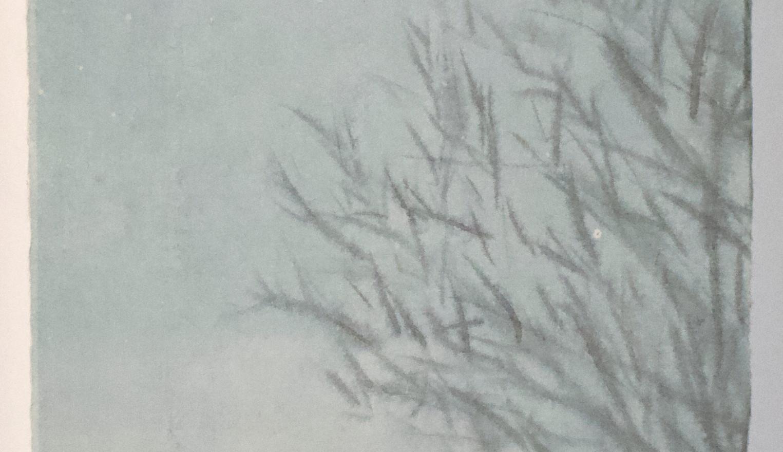 Untitled, 2021, Watercolour on hanji, 47*75