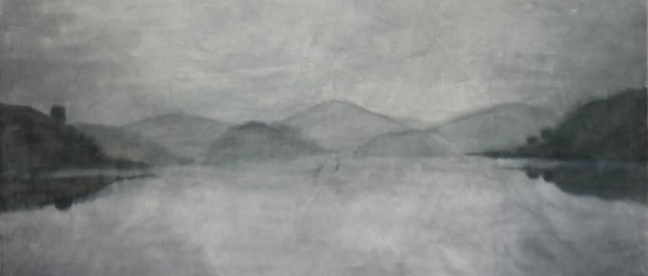 Untitled, 2018, Watercolour on hanji