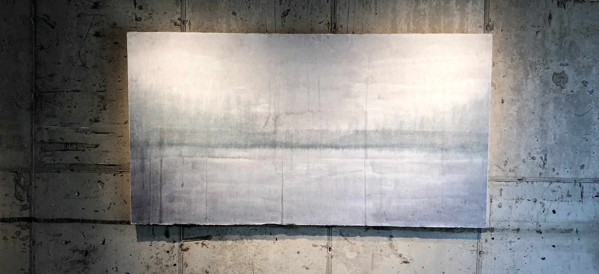 Untitled, 2018, Watercolour on hanji, 142*75