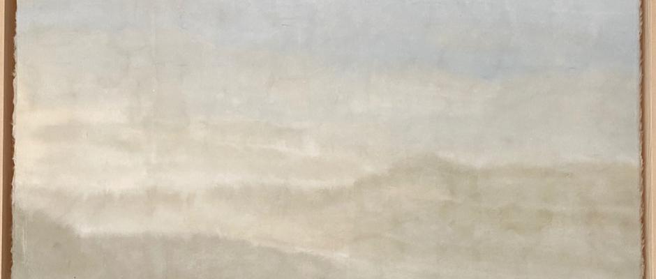 Untitled, 2020, Watercolour on hanji, 51*75