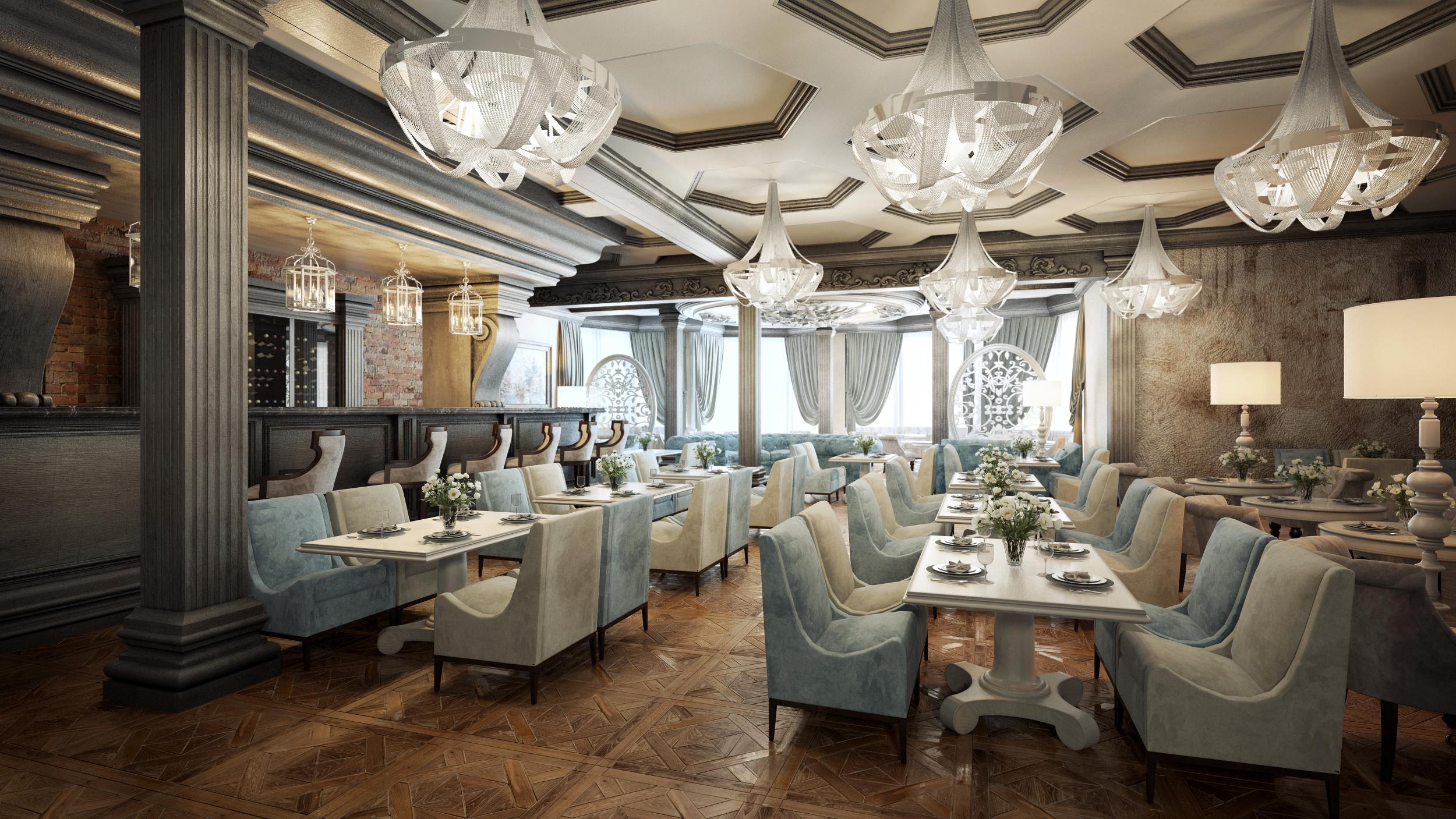 Итальянский ресторан в Абу-Даби, ОАЭ