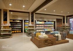 """Дизайн супермаркета """"Горка"""" г.Ухта"""