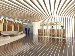 Дизайн лобби APART HOTEL г.Москва