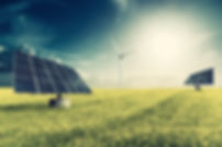 pannels in grass