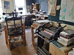 Bookbinding etc workshop